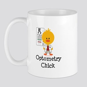 Optometry Chick Optometrist Mug