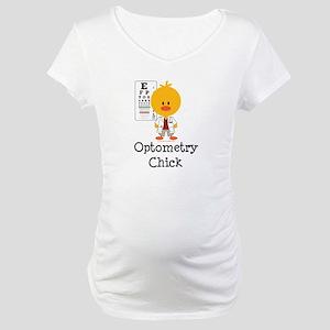 Optometry Chick Optometrist Maternity T-Shirt