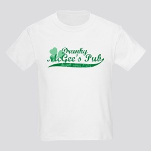 Drunky McGee's Pub - Drunk Since 1905 Kids T-Shirt