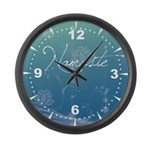 Namaste Large Wall Clock