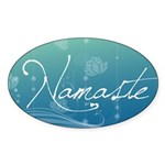Namaste Sticker (Oval 10 pk)