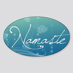 Namaste Sticker (Oval)