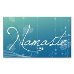 Namaste Sticker (Rectangle)