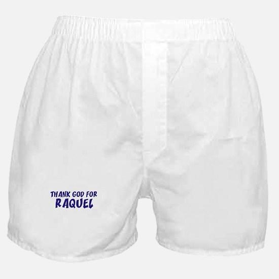 Thank God For Raquel Boxer Shorts