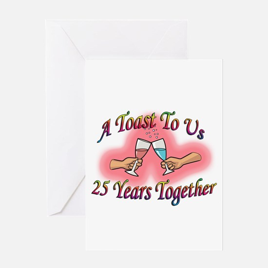 Funny 25th anniversaries Greeting Card