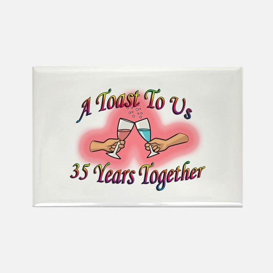 Unique Couples Rectangle Magnet