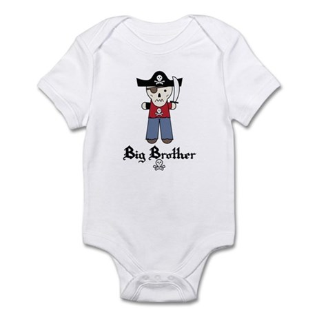Pirate 3 Big Brother Infant Bodysuit