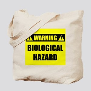 WARNING: Biological Hazard Tote Bag