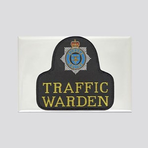 Sussex Police Traffic Warden Rectangle Magnet