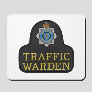 Sussex Police Traffic Warden Mousepad