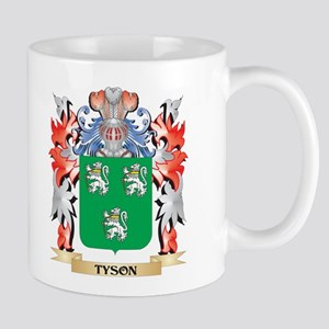 Tyson Coat of Arms - Family Crest Mugs