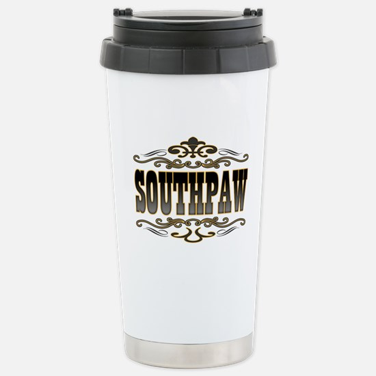 Southpaw Swirl Stainless Steel Travel Mug