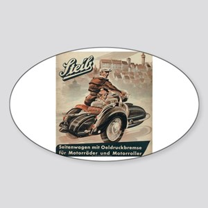Sidecar Sticker (Oval)