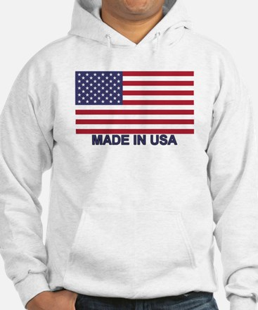 MADE IN USA (w/flag) Hoodie
