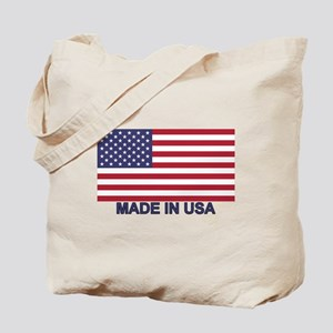 MADE IN USA (w/flag) Tote Bag