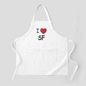 I heart SF Apron