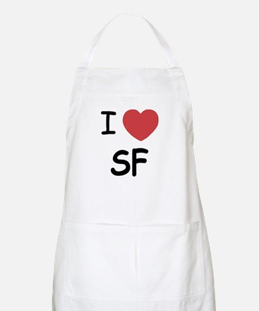 I heart SF Apron