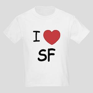 I heart SF Kids Light T-Shirt