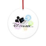 DizFanatic Ornament (Round)