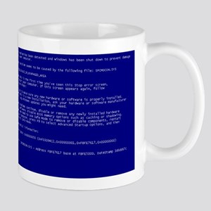 "Windows ""Blue Screen of Death"" Mug"