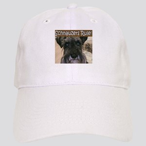 Schnauzers Rule Cap