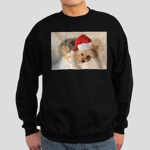Santa Yorkie - Sweatshirt (dark)