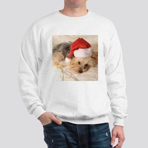 Santa Yorkie - Sweatshirt