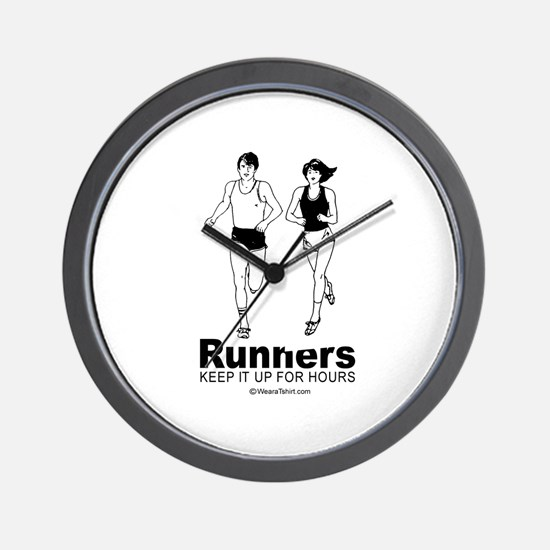 Runners keep it up for hours -  Wall Clock