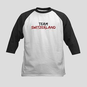 Team Switzerland Twilight Kids Baseball Jersey