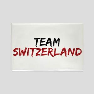 Team Switzerland Twilight Rectangle Magnet