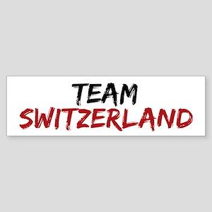 Team Switzerland Twilight Sticker (Bumper)