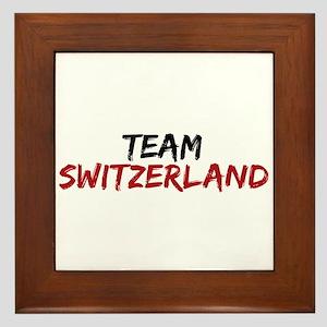 Team Switzerland Twilight Framed Tile