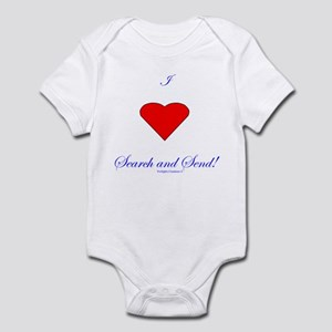 Love Search Send Infant Bodysuit