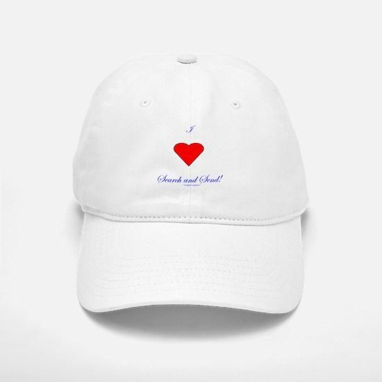 Love Search Send Baseball Baseball Cap