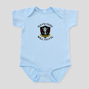 Have Gun Infant Bodysuit