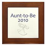 Aunt-to-Be 2010 Framed Tile