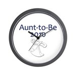 Aunt-to-Be 2010 Wall Clock