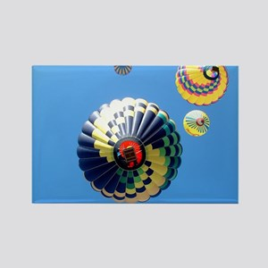 Balloon Swirls Rectangle Magnet
