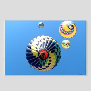 Balloon Swirls Postcards (Package of 8)