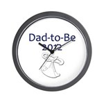 Dad-to-Be 2012 Wall Clock