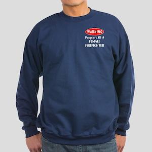 Female Firefighter Property Sweatshirt (dark)
