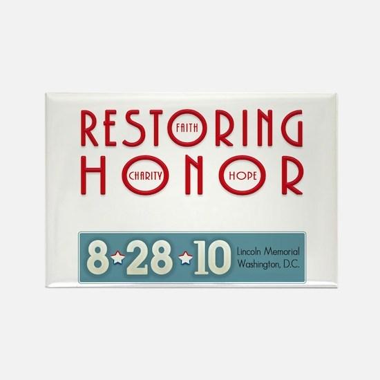Restoring Honor 8-28 Rectangle Magnet