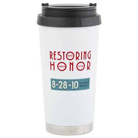 Restoring Honor 8-28 Stainless Steel Travel Mug