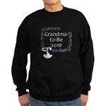 Grandma-to-Be 2010 Sweatshirt (dark)