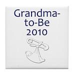 Grandma-to-Be 2010 Tile Coaster