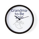 Grandma-to-Be 2010 Wall Clock