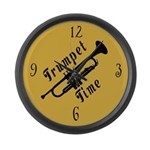 Funny Trumpet Time Music Clock Gift