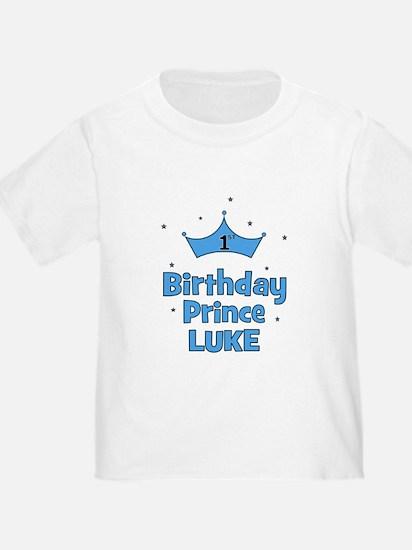 1st Birthday Prince LUKE! T