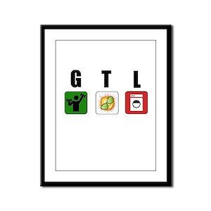 GTL Framed Panel Print
