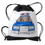 K-9 Police Drawstring Bag